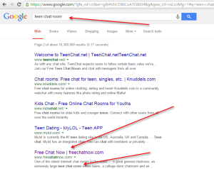 google result snap teen chat