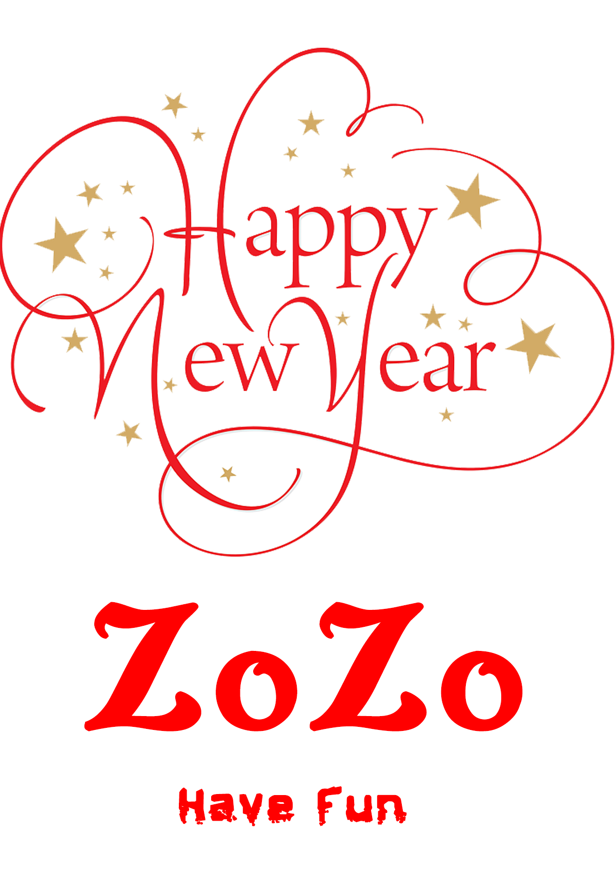 zozo chat happy new year wishes