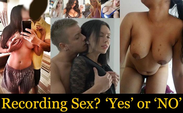 recording sex