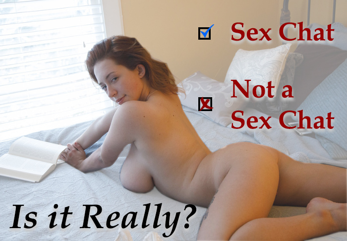 is it really a sex chat room