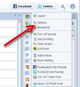 click option